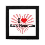 I Love Back Mountain, United States Keepsake Boxes