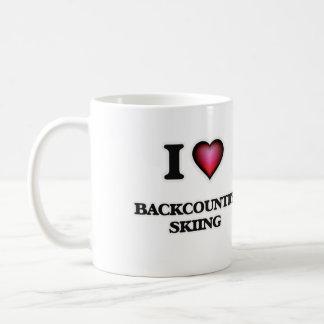 I Love Backcountry Skiing Coffee Mug