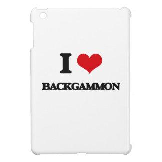 I Love Backgammon iPad Mini Covers