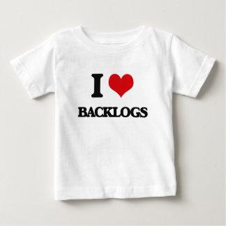 I Love Backlogs Tee Shirts