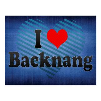 I Love Backnang, Germany Postcard