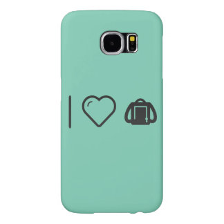 I Love Backpacking Samsung Galaxy S6 Cases
