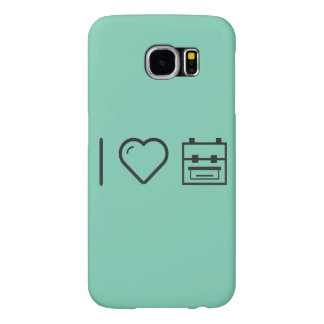 I Love Backpacks Samsung Galaxy S6 Cases