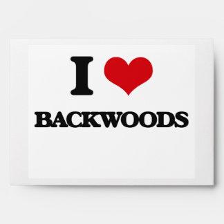 I Love Backwoods Envelope