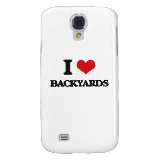 I Love Backyards Galaxy S4 Cover