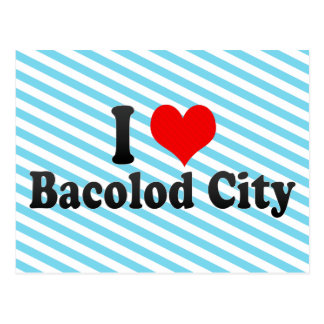 I Love Bacolod City, Philippines Postcard