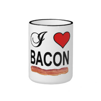 I Love Bacon 15 oz Coffee Mug