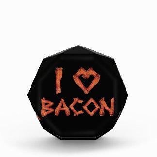 I Love Bacon Acrylic Award