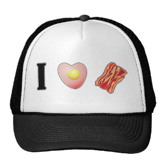 I Love Bacon ... and I Love You Trucker Hat