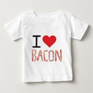 I Love Bacon Baby T-Shirt