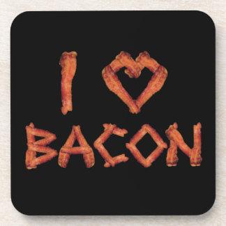 I Love Bacon Beverage Coaster