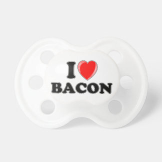 I Love Bacon BooginHead Pacifier