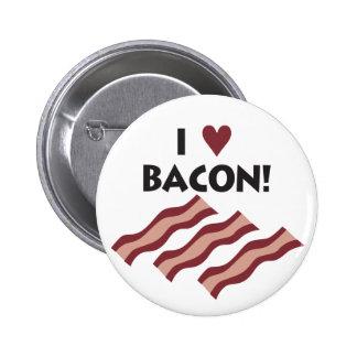 I Love Bacon Pin