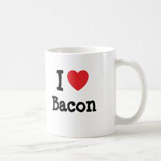 I love Bacon heart T-Shirt Coffee Mug