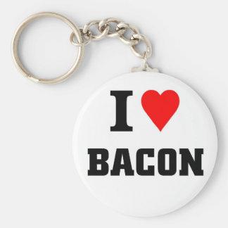 I love bacon keychain