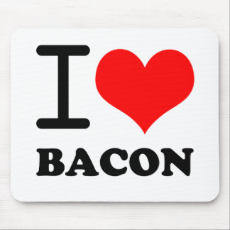 I love bacon mouse pad