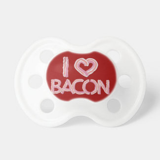 I Love Bacon Pacifier