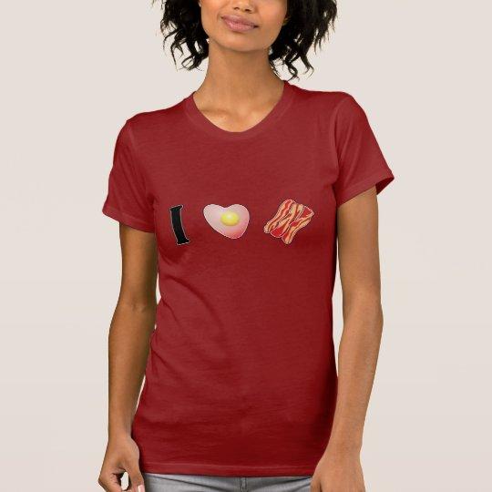 I Love Bacon! - Pork T-Shirt