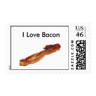 I Love Bacon Stamp