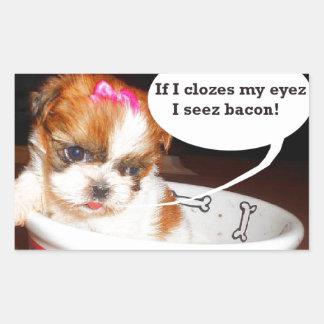 I Love Bacon Stickers