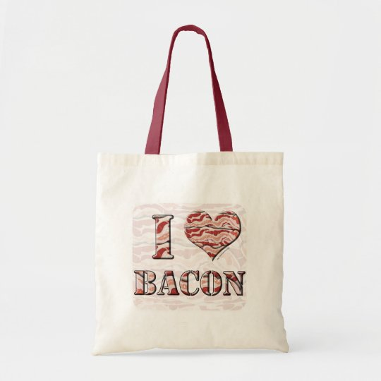 I Love Bacon! Tote Bag