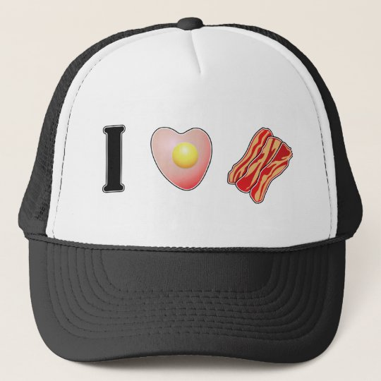 I Love Bacon! Trucker Hat