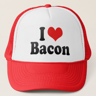 I Love Bacon Trucker Hat