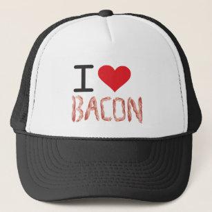 68d945381d846 I Love Bacon Hats   Caps