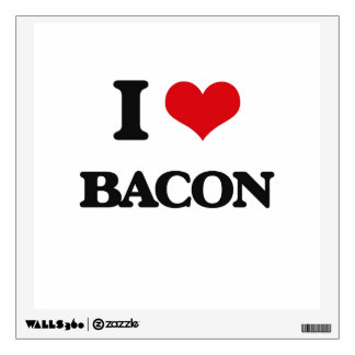 I Love Bacon Room Decals