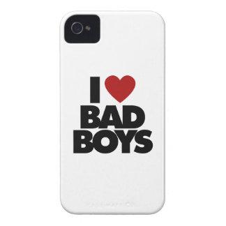 I Love Bad Boys Case-Mate iPhone 4 Case