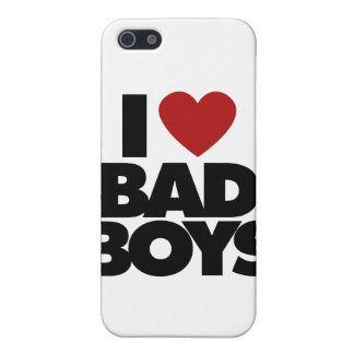 I Love Bad Boys Cover For iPhone SE/5/5s