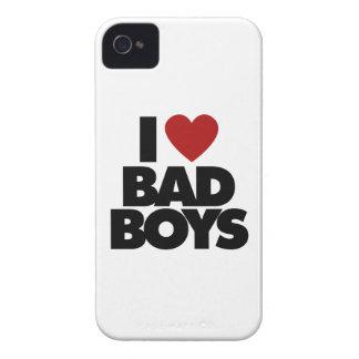 I Love Bad Boys iPhone 4 Case-Mate Case