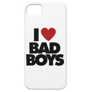 I Love Bad Boys iPhone SE/5/5s Case