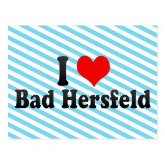 I Love Bad Hersfeld, Germany Postcard