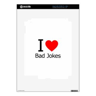 I Love Bad Jokes Decal For The iPad 2
