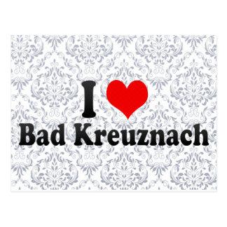 I Love Bad Kreuznach, Germany Postcard