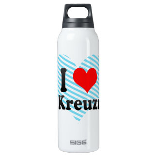 I Love Bad Kreuznach, Germany Thermos Water Bottle