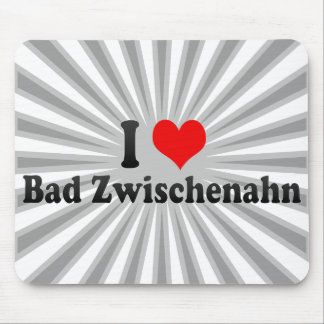 I Love Bad Zwischenahn, Germany Mouse Pad