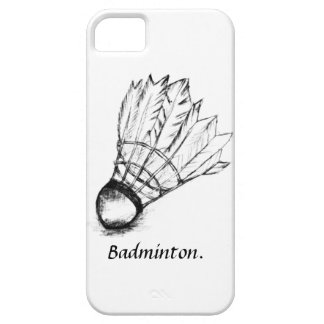 I Love Badminton iPhone 5 Cover