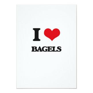 I Love Bagels Card