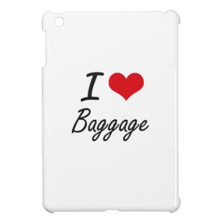 I Love Baggage Artistic Design Cover For The iPad Mini