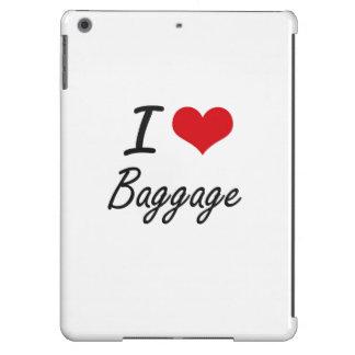 I Love Baggage Artistic Design iPad Air Covers