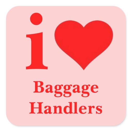 I love baggage handlers tag