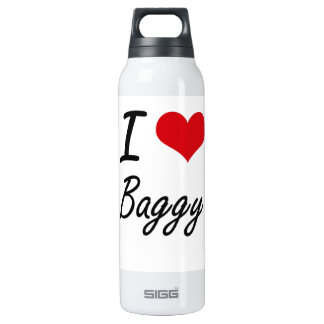 I Love Baggy Artistic Design 16 Oz Insulated SIGG Thermos Water Bottle