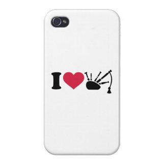 I love bagpipe iPhone 4/4S case