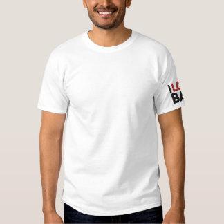 I LOVE BAH (I LOVE BAHAMAS) EMBROIDERED T-Shirt