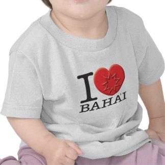 I Love Baha'i Tshirts