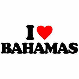 I LOVE BAHAMAS PHOTO SCULPTURE