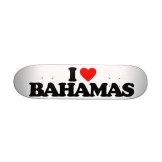I LOVE BAHAMAS CUSTOM SKATE BOARD