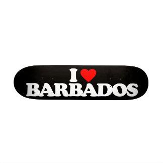 I LOVE BAHAMAS SKATEBOARD DECK